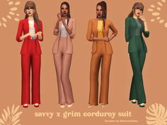 Sims 4 Cc Packs, Sims 4 Mm Cc, Sims Four, Sims 4 Mods Clothes, Sims 4 Clothing, Pelo Sims, Sims 4 Dresses, Party Dresses, Suits For Women