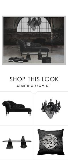 """""""Haunted house"""" by perpetto ❤ liked on Polyvore featuring interior, interiors, interior design, home, home decor, interior decorating, Pied a Terre and Driade"""