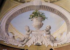Ian Cairnie Decorative and Trompe l'oeil Ceiling Samples - Ceilings