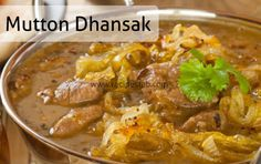 Mutton Dhansak Indian Parsi Recipe