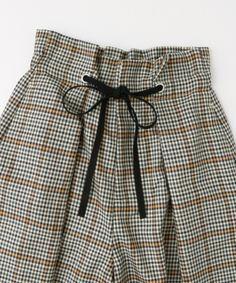 アーバンリサーチオンラインストア - URBAN RESEARCH ONLINE STORE Maje, Short Dresses, Jumpsuit, Plaid, Urban, Detail, Knitting, Womens Fashion, Skirts