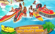 Uphill Rush 7 is an exciting installment from Uphill Rush platform series. Try out impressive tricks and knock bathers out of the way in Uphill Rush! Rush Games, Adventure Games, Water Slides, Roller Coaster, Cheating, Android, Racing, Hacks, Hack Tool