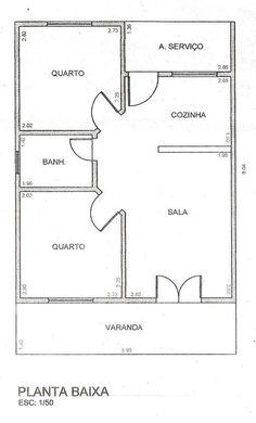 Little House Plans, Dream House Plans, Small House Plans, Minimalist House Design, Small House Design, Minimalist Home, Home Building Design, Home Design Plans, Building A House