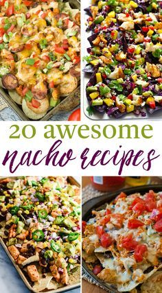 With so many recipes to choose from, there's a nacho for every guy and gal out there. I've put together 20 Awesome Nacho Recipes that you will love!