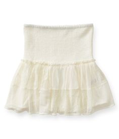 Sheer Lace Woven Skirt from Aéropostale