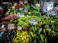 Vega central de Santiago de Chile Las Vegas, World Market, Shops, Street, Places, Travel, Viajes, Vegetable Garden, World