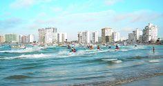 ECUADOR |||||||||| SALINAS - Salinas. Playas de Ecuador. Salinas es una ciudad ecuatoriana, de la Provincia de Santa Elena. Es la cabecera cantonal del Cantón Salinas.