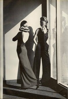 Photo by Helmut Newton for Vogue, March 1975