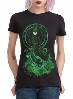 Wicked shirt with Elphaba.