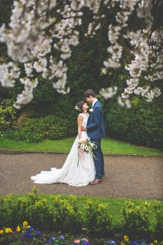 Love the grounds and cherry blossom at Nonsuch Mansion https://mariaassia.com/emotional-nonsuch-mansion-wedding/ #weddingvenue #nonsuchmansion #mariaassiaphotography #weddinginspiration #gettingmarried