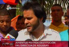 Juventud PDI Pide Destitucion Del Director De Aduanas #Video