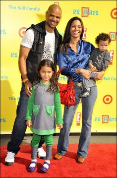 Salli Richardson and Dondre Whitfield <<--Two of my favs :^)