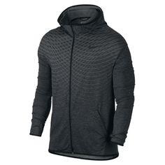 d11c0c9fa811 Nike Mens L Ultimate Dry Full Zip Black Gray Hoodie Jacket Large 742492 011  130