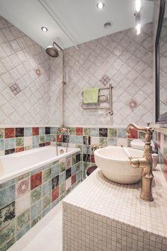 ванная в интерьере двухкомнатной хрущевки