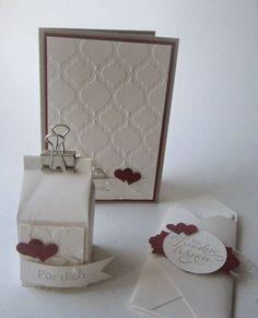 Stampin Up Einladung Invitation Hochzeit Wedding Kreative Elemente