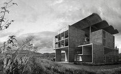 """33arquitectures: Le Corbusier, Villa Chimanbhai Dionisio González: """"En Algún lugar, Ninguna parte. Proyectos no ejecutados de Le Corbusier, 2013"""""""