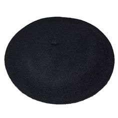 f6fd7de5685 JOYHY Women s Solid Color Classic French Style Beret Beanie Hat Black  Lightweight Beret One Size Fits Most Diameter about inch Available in  different colors ...