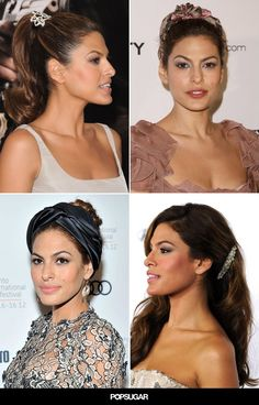 Pin for Later: Mum-to-Be Eva Mendes Never Met a Headband She Didn't Love