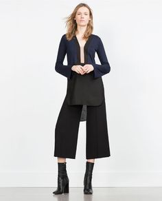 Image 1 of COLOUR BLOCK TUNIC from Zara