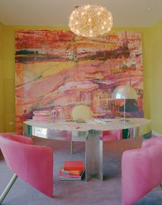 KELLY WEARSTLER | INTERIORS. Kelly Wearstler Studio, Kelly's Office