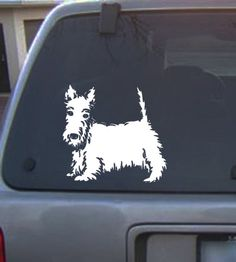 Hey, I found this really awesome Etsy listing at https://www.etsy.com/listing/170941874/scottish-terrier-dog-decal-sticker-free