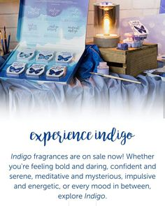 What do you think #Indigo should smell like?  Experience Scentsy's version at EnjoySmartScents.com.  available NOW!  #MDavisIndSSD
