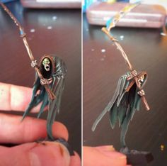 Nighthaunt Cairn Wraith gold quality done for Miniature Painters