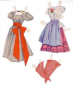 Oklahoma!  Musical Paper Dolls