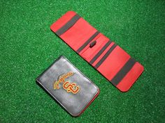 New Sunfish scorecard and yardage book holders - made of high quality leather - call 888-550-3025 to order yours today. www.sunfishsales.com