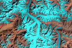 Fedchenko Glacier : Image of the Day : NASA Earth Observatory