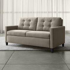 Shop Karnes Grey Queen Sleeper Sofa.