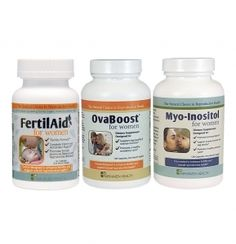 Amazon.com: FertilAid for Women and Ovaboost Combo 1 Month Supply ...