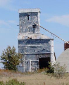 Old Grain Elevator...Wildorado, Texas