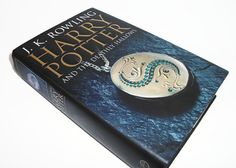 Hollow Book Safe Harry Potter Deathly Hallows by retrograndma
