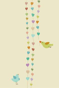 Sobre pássaros e corações!