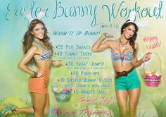 WEEKLY WORKOUT SCHEDULE, can't wait to start the bikini body series!!