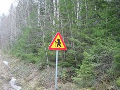 Björbo Mockfjärd, Sweden. Beware of trolls... I pass through these two small towns every time I'm in Sweden!