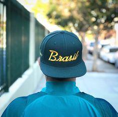 ec7d4009e66 Brazil Five Star Soccer Snapback Hat