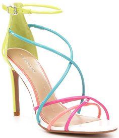 d2243eebe24 Dillards.com. Yellow Strappy HeelsStrappy SandalsGianni BiniDress ...