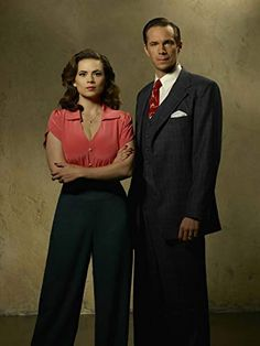 Agent Carter Marvel TV Series starring Haley Atwell as Agent Peggy Carter Agent Carter Costume, Haley Atwell, James D'arcy, And Peggy, Badass Women, Looks Cool, Marvel Characters, Marvel Dc, Marvel Order