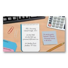 Accounting business cards business cards and business accounting office work business card reheart Choice Image
