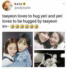 HEARTEU!! #yeri #taeyeon #redvelvet_memes