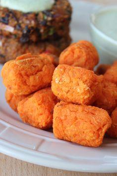 Gluten Free Baked Sweet Potato Tots