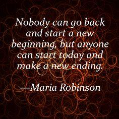 Maria Robinson Quote