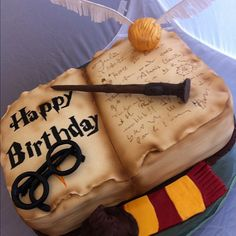 Harry Potter Cake by baccarita, via Flickr
