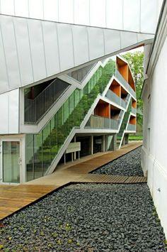 maison contemporaine a vendre, appartement atypique, architecture moderne