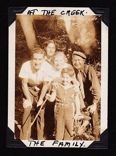 Rose, Sydney, Larry, Mac, Mt Kisco, NY 1937