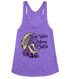 Stay Wild Moon Child | Racerback | Front