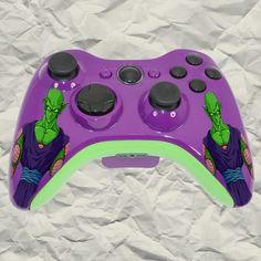 Custom New Xbox 360 Wireless Controller DBZ by GameConsole911Modz, $90.00