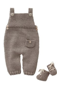 Bergere de France Dungarees & Sneakers Pattern